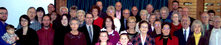 Some of the Members of the Capps Road Church of Christ